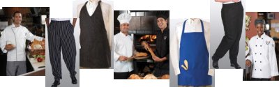 chef wear page